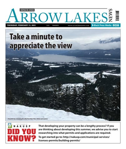 Arrow Lakes News, February 11, 2021