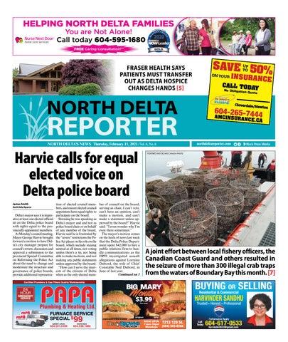North Delta Reporter, February 11, 2021