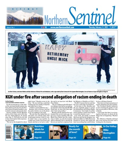 Kitimat Northern Sentinel/Northern Connector, February 11, 2021