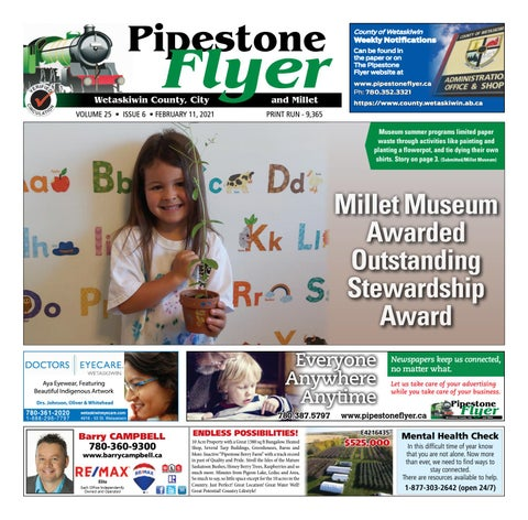 Wetaskiwin/Millet Pipestone Flyer, February 11, 2021