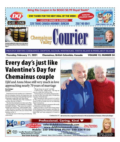 Chemainus Valley Courier, February 11, 2021