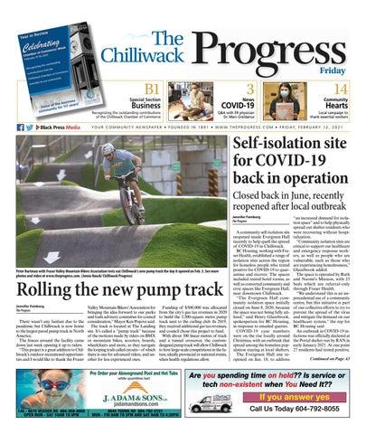 Chilliwack Progress, February 12, 2021