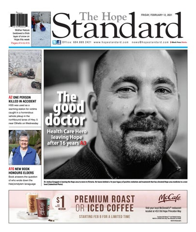 Hope Standard, February 12, 2021