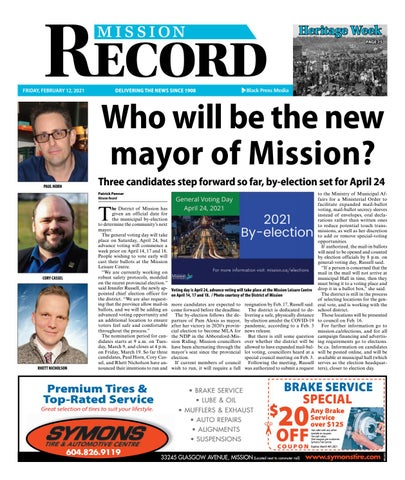Mission City Record, February 12, 2021