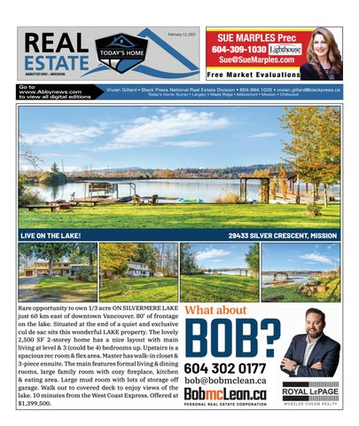 February 12, 2021 Real Estate Weekly - Abbotsford