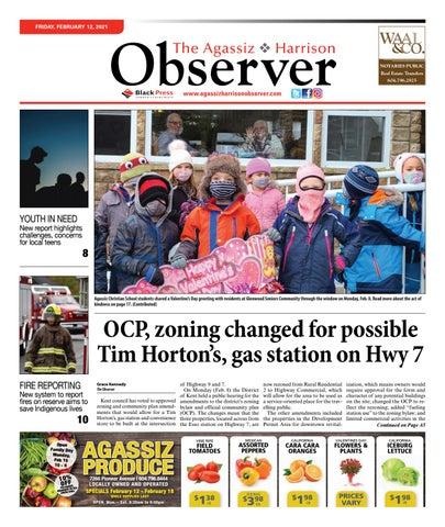 Agassiz Observer, February 12, 2021