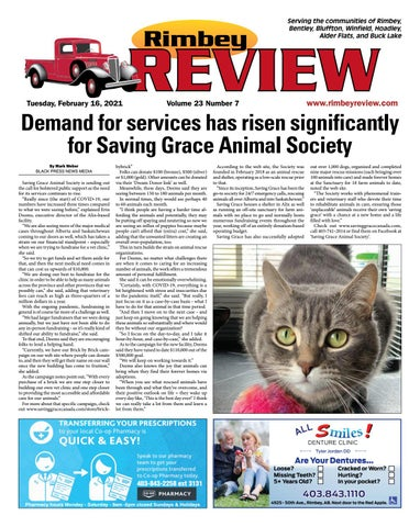 Rimbey Review, February 16, 2021