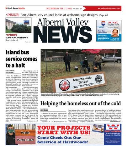 Alberni Valley News, February 17, 2021