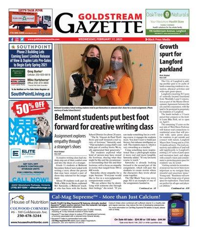 Goldstream News Gazette, February 17, 2021