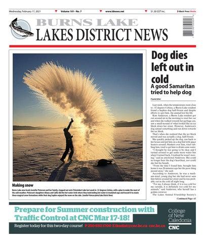 Burns Lake Lakes District News, February 17, 2021