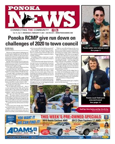 Ponoka News, February 17, 2021