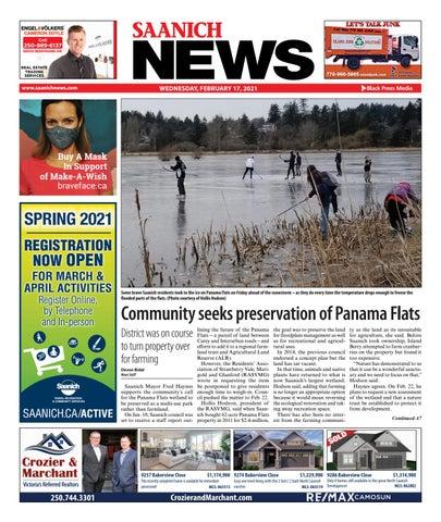 Saanich News, February 17, 2021
