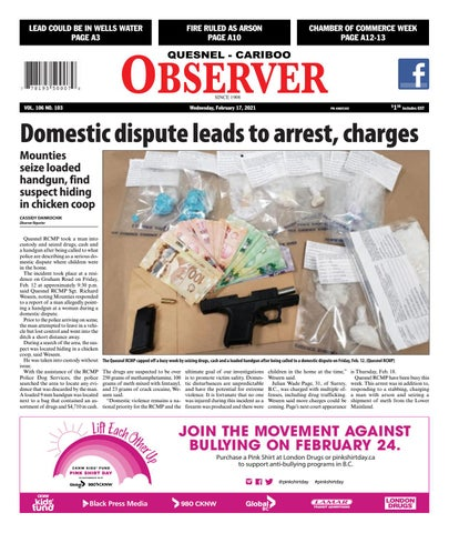 Quesnel Cariboo Observer, February 17, 2021