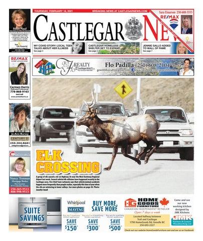 Castlegar News/West Kootenay Advertiser, February 18, 2021