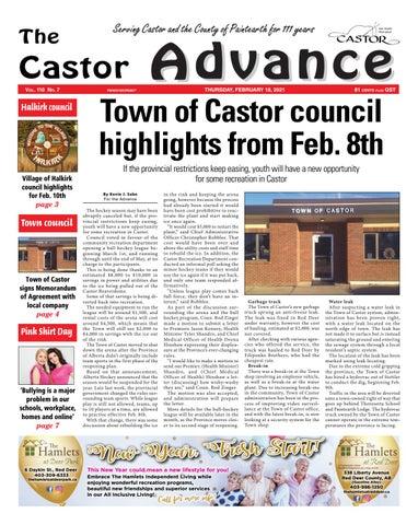 Castor Advance, February 18, 2021