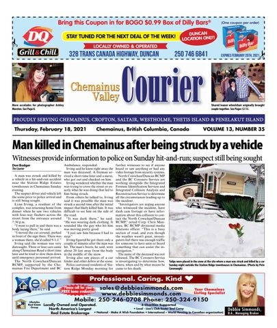 Chemainus Valley Courier, February 18, 2021