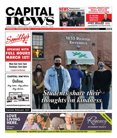 Kelowna Capital News, February 18, 2021