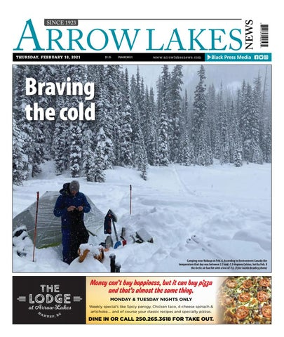 Arrow Lakes News, February 18, 2021
