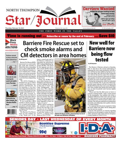 Barriere Star Journal, February 18, 2021