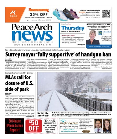 Peace Arch News, February 18, 2021