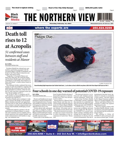 The Northern View/Northern Connector, February 18, 2021