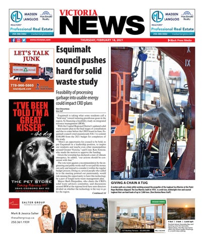 Victoria News, February 18, 2021