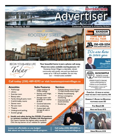 Cranbrook Daily Townsman, February 18, 2021