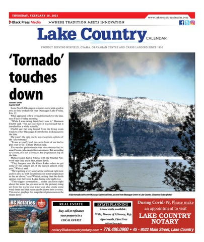 Lake Country Calendar, February 18, 2021