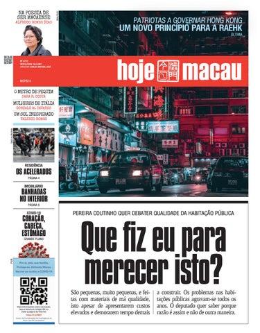 Hoje Macau 19 FEV 2021 #4712
