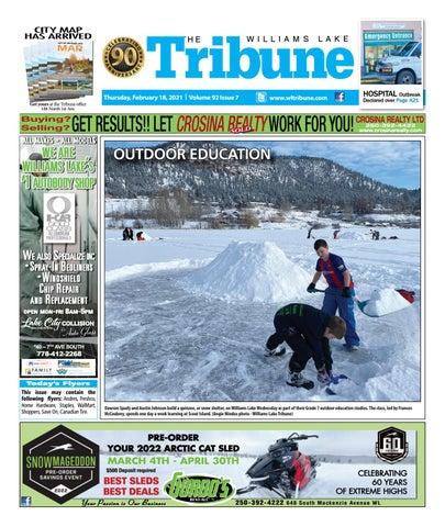 Williams Lake Tribune, February 18, 2021