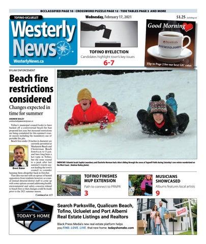 Tofino-Ucluelet Westerly News, February 17, 2021