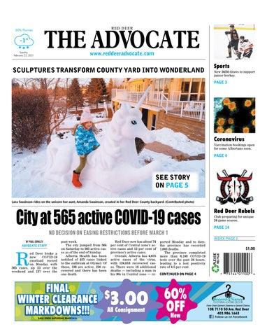 Red Deer Advocate, February 23, 2021