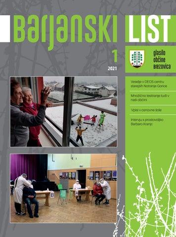 Barjanski list januar 2021