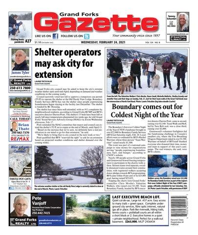 Grand Forks Gazette/West Kootenay Advertiser, February 24, 2021