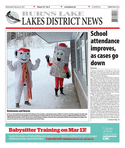 Burns Lake Lakes District News, February 24, 2021
