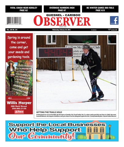 Quesnel Cariboo Observer, February 24, 2021