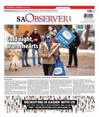 Salmon Arm Observer, February 24, 2021