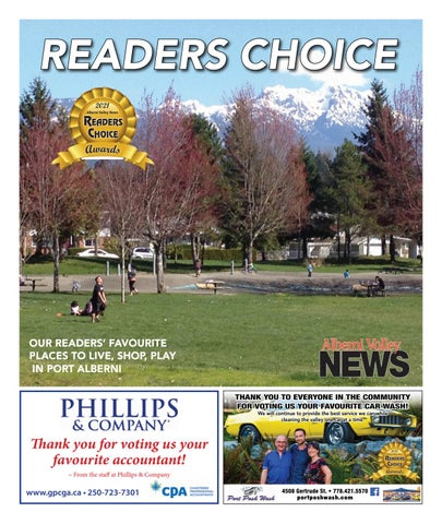 February 24, 2021 Alberni Valley News