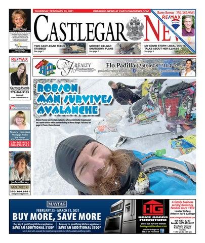 Castlegar News/West Kootenay Advertiser, February 25, 2021