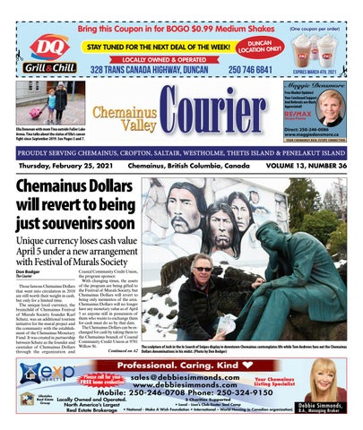 Chemainus Valley Courier, February 25, 2021