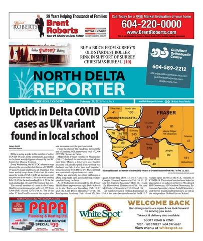 North Delta Reporter, February 25, 2021