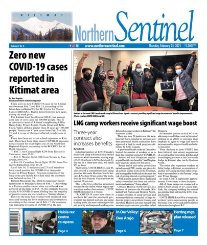 Kitimat Northern Sentinel/Northern Connector, February 25, 2021