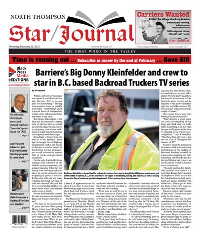 Barriere Star Journal, February 25, 2021