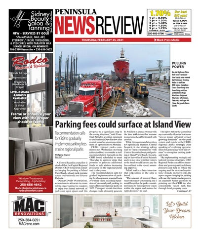 Peninsula News Review, February 25, 2021