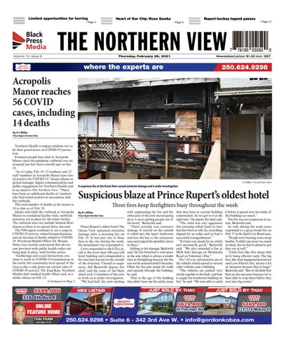 The Northern View/Northern Connector, February 25, 2021