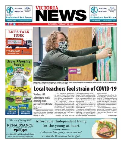 Victoria News, February 25, 2021