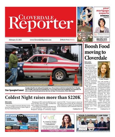 Cloverdale Reporter, February 25, 2021