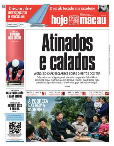 Hoje Macau 26 FEV 2021 #4717