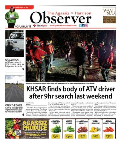 Agassiz Observer, February 26, 2021