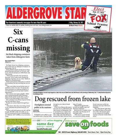 Aldergrove Star, February 26, 2021